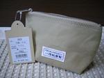 【新作】「三角ポーチ」¥1890